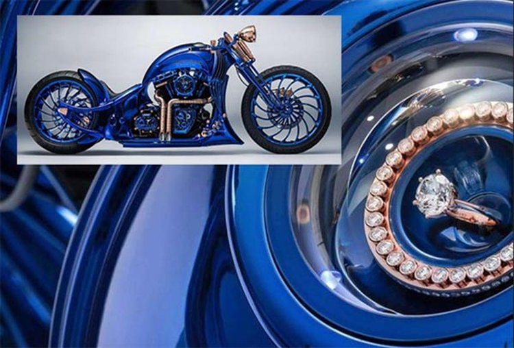 This Blinged-Out $1.9 Million Harley-Davidson Is the Most Expensive Motorcycle in the World