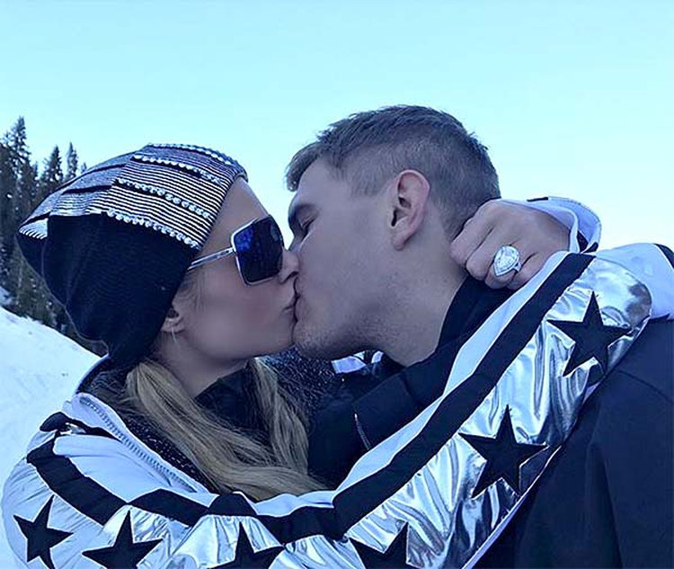 Holiday Weekend in Aspen Nets 20-Carat Engagement Sparkler for Socialite Paris Hilton